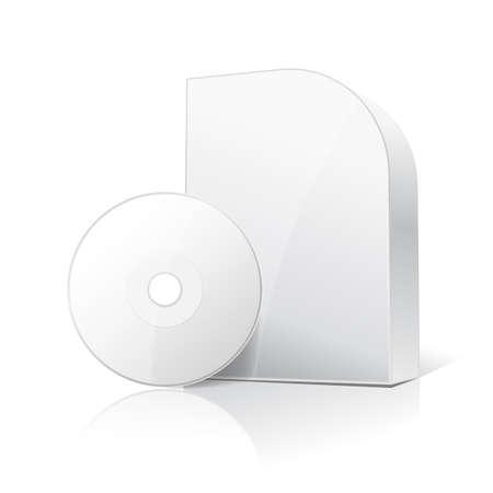 carton box: blank carton box for software and disc