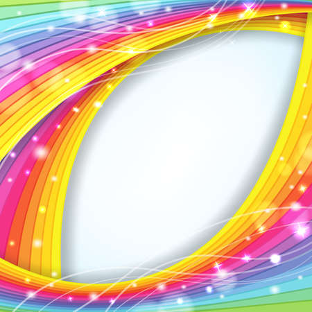 rainbow stripe: abstract background with rainbow colors and sparkles
