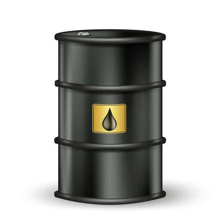 oil barrel: petrol barrel with drop sign