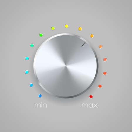 switcher: volume icon on gray background