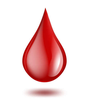 blood donation: drop of blood