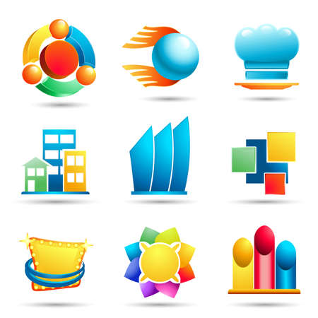 show window: logo design