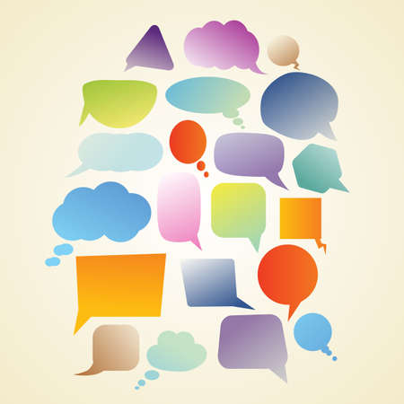set of speech bubbles Stock Vector - 21634169