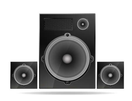 acoustic systems: speakers system Illustration
