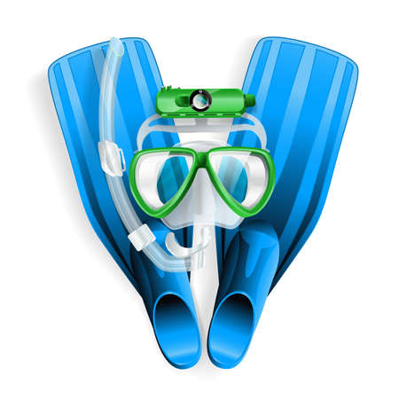 diving equipment Stock Vector - 21634284
