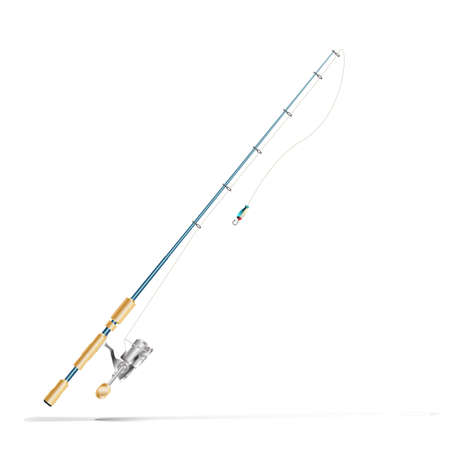 spinner: fishing rod