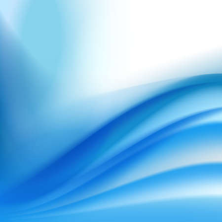 turquoise swirl: abstract background Illustration