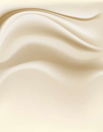 white chocolate: cream background