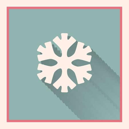 interface menu tool: bassa temperatura segno snowflake retr� simbolo