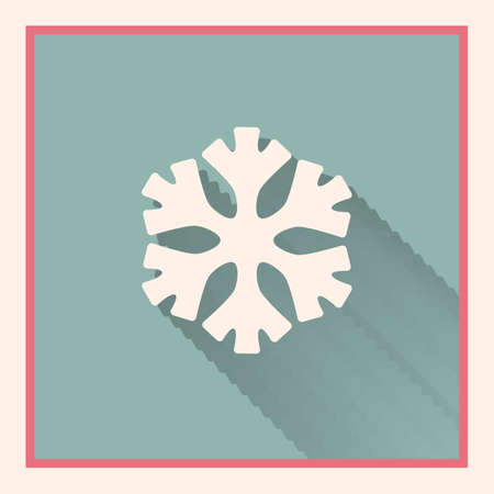 inet: low temperature sign snowflake retro symbol