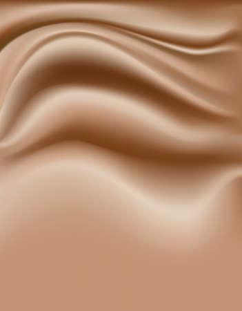 creamy: light brown soft creamy background Illustration