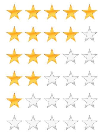 rating: golden stars rating