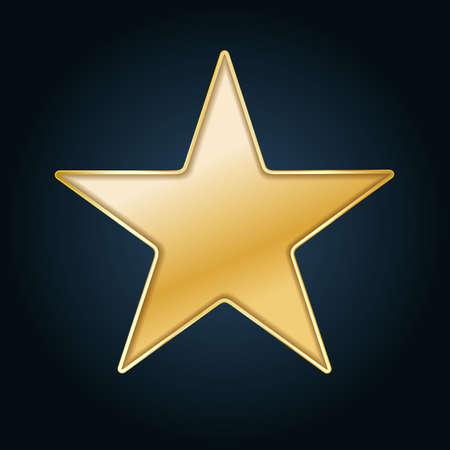 golden star: golden star background cut out in black paper
