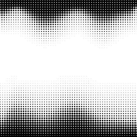 Abstracte halftone achtergrond, gemakkelijk bewerkbare vector illustratie Stock Illustratie