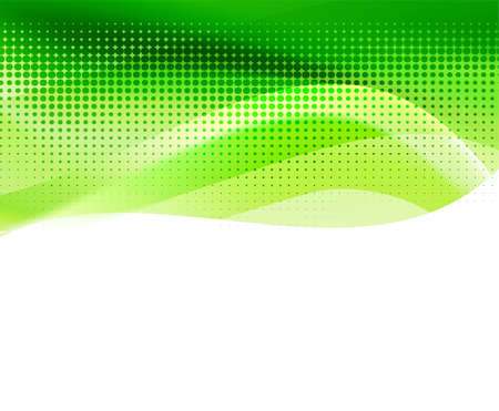 art background: vivid green abstract background with halftone. vector