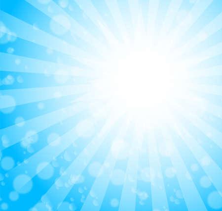 burst background: blue burst background. vector Illustration