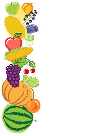harvest background: harvest background illustration. vector