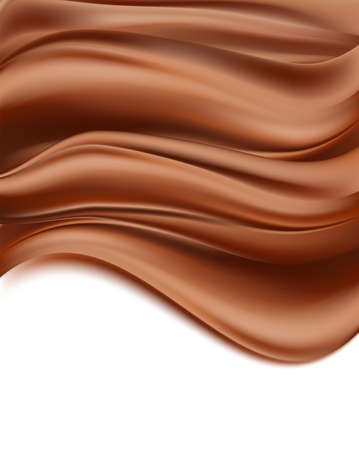 creamy: chocolate background. creamy abstract vertical background. Illustration