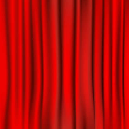 curtain background: red curtain background. vector
