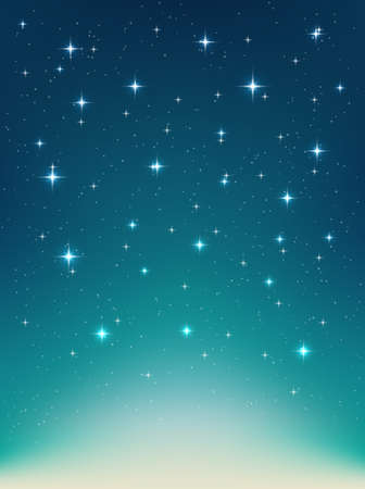 night sky stars: Vector background with night, stars in the sky, shining light. Abstract natural  background with stars for Your design project. Vertical backdrop with  sparkling stars in the night clear sky
