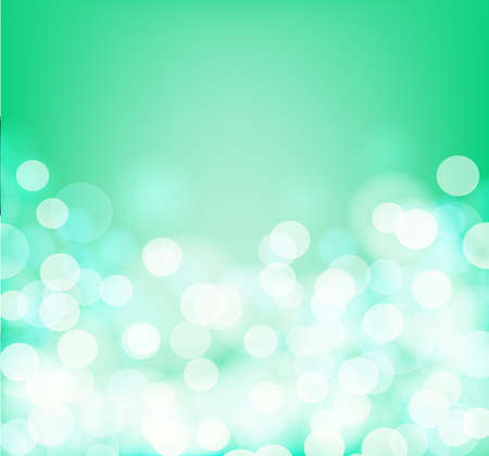 aqua background: Green and aqua colors blurry square background. Vector illustration Illustration
