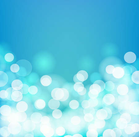 aqua background: Blue and aqua colors blurry square background. Vector illustration