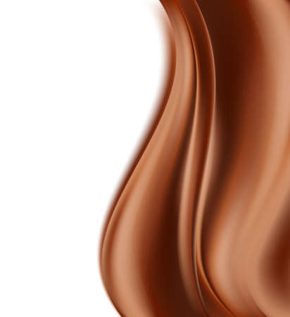 indulgence: chocolate background. creamy abstract background. vector