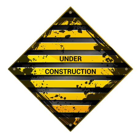 recondition: under construction sign