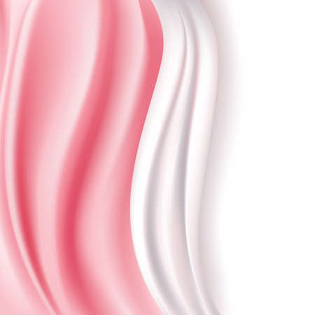 silky: abstract pink silky soft background. vector illustration