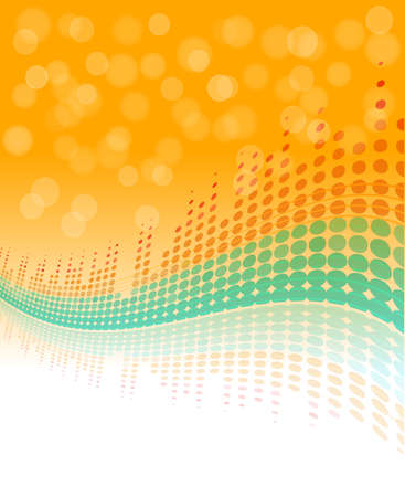 wavy digital equalizer abstract background. vector musical party design template