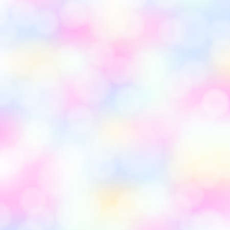 bokeh background: Abstract aqua blue bokeh simple background with blurred light effects. Glowing light in blue sky abstract horizontal backdrop for Your design. vector illustration