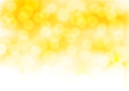 blurry lights: abstract golden background with blurry lights effects. vector illustration