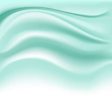 creamy: soft creamy turquoise background on white. vector illustration