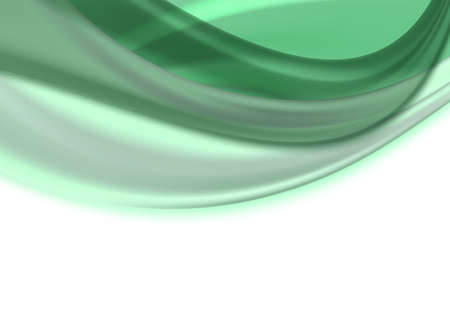satiny: soft light emerald abstract background. vector illustration