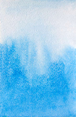 blue abstract watercolor background