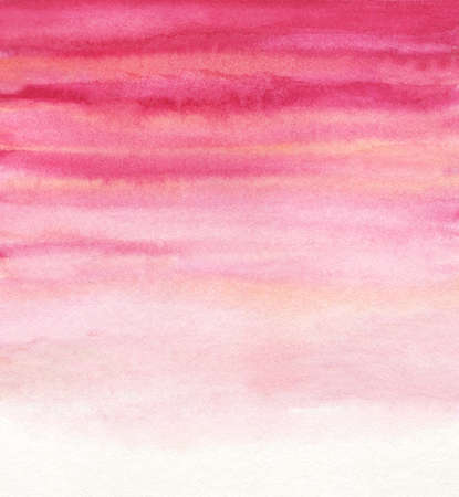 pink and red watercolor background. abstract hand-painted illustration