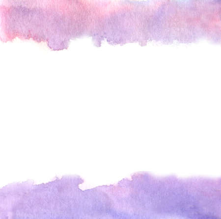 pink and purple watercolor background borders
