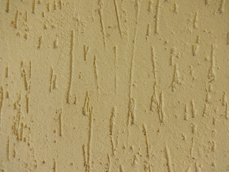 Yellow Plaster Background