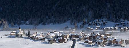 Obergesteln en Valais, Suisse, Conches