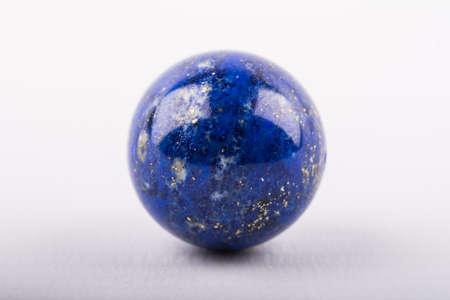 lapis: Sphere of lapis lazuli Stock Photo