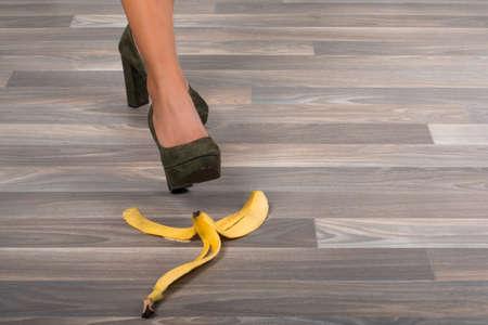 slip on a banana peel