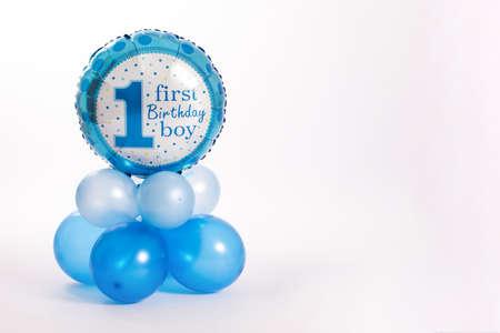 1歳の誕生日の男の子 写真素材 - 106437133