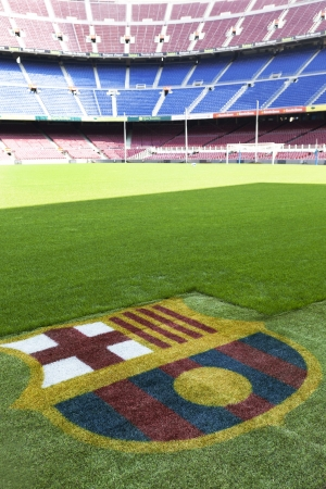 Nou Camp - Fc Barcelona stadium detail