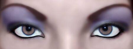 color abstract eyes Stok Fotoğraf