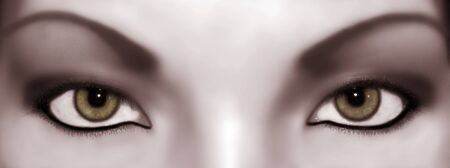 abstract eyes 1 Stok Fotoğraf