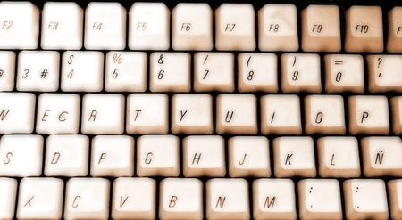 keyboard: Sepia Keyboard