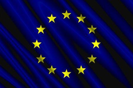 유럽의: European Union Air Flag