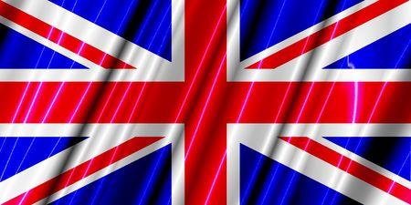 UK plastic flag photo