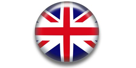 UK shiny icon Stock Photo - 3078132