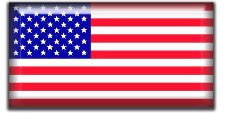 square: US flag square icon
